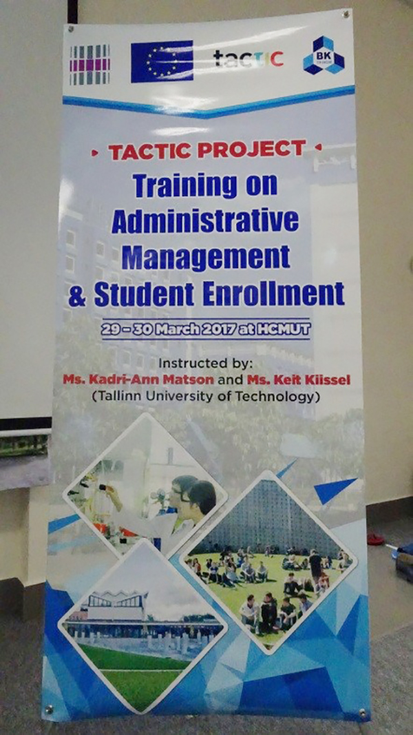 TRAINING MODULE: ADMINISTRATION MANAGEMENT AND STUDENT