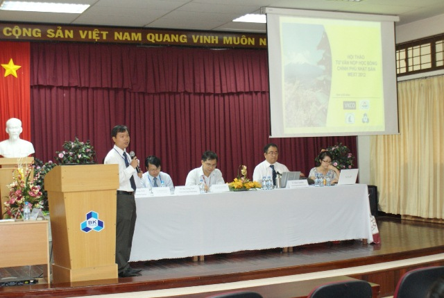Consulting Workshop of the Mext Scholarship Program 2012